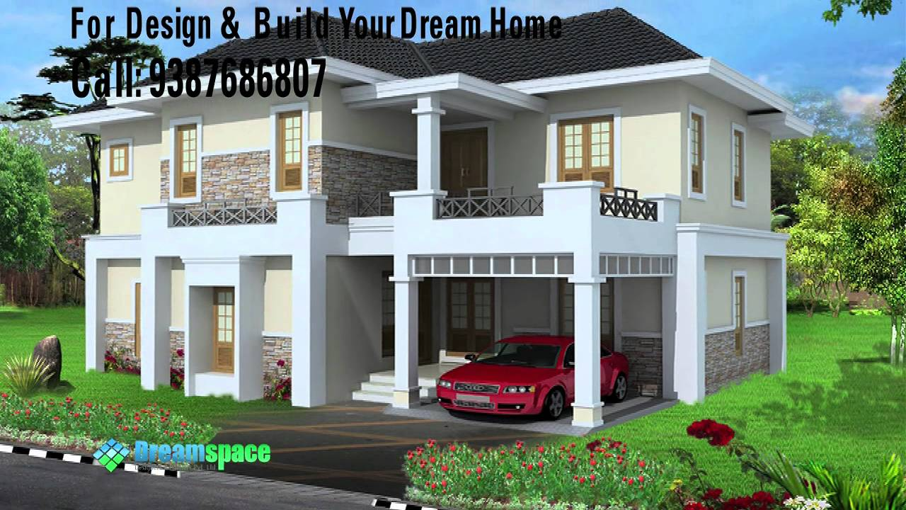 Low cost house construction with Dreamspace Designers & Builders kochi ...