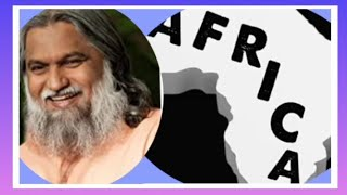POWERFUL & IMPORTANT MESSAGE TO AFRICAN AMERICANS & AFRICAN LEADERS BY PROPHET SADHU SUNDAR