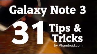 Galaxy Note 3 Tips & Tricks