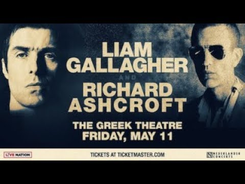 Liam Gallagher (Oasis) concert - As You Were Tour - live - Greek Theatre - Los Angeles - May 11,2018