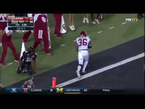 Oklahoma at Texas Tech | 2016 Big 12 Football Highlights