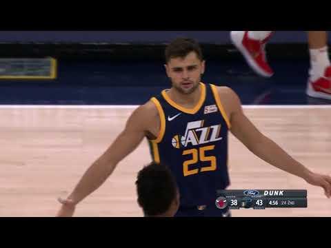 Chicago Bulls vs. Utah Jazz - November 22, 2017