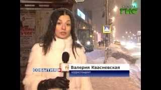 Уборка снега в Самаре(Коммунальные службы Самары ликвидируют последствия обильного снегопада, бушевавшего в областной столице..., 2013-12-09T12:58:41.000Z)