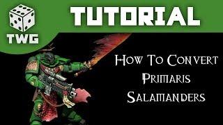 How To Convert Primaris Salamanders: Warhammer 40k Tutorial: