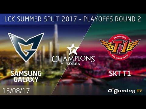 Samsung Galaxy vs SKT T1 - LCK Summer Split 2017 - Playoffs Round 2 - League of Legends