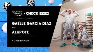 Gaëlle Garcia Diaz & Alkpote #CheckFood