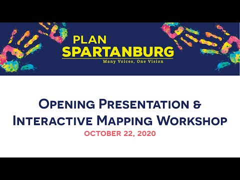 Planapalooza Opening Presentation & Mapping Workshop