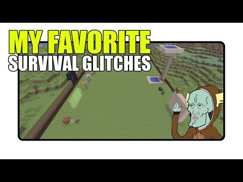 My Favorite Minecraft Survival Glitches