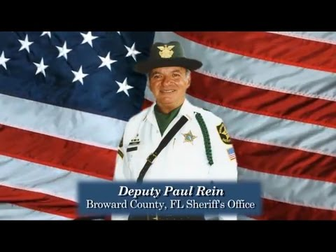 Deputy Paul Rein (Broward County Florida Sheriff's Office)