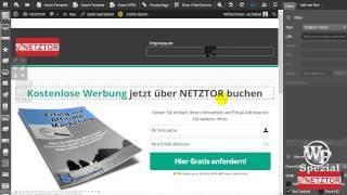 ProfitBuilder Video Funktionen Shortcodes Anleitung Optimizepress Alternative NETZTOR
