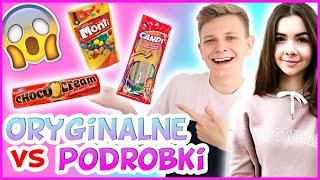 ORYGINALNE VS PODRÓBKA CHALLENGE - Słodkości #13 | Dominik Rupiński & Kompleksiara