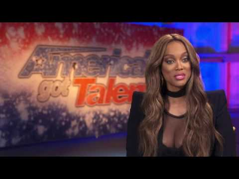TYRA BANKS - AMERICA'S GOT TALENT SEASON 12 PREMIERE
