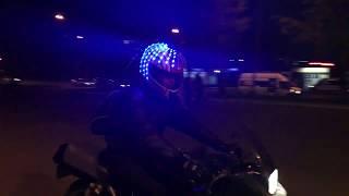 Подсветка шлема мотоцикла ( под заказ )