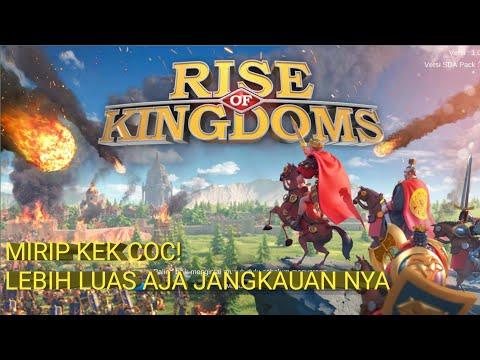 REVIEW GAME MIRIP COC! SERU BRO GAMENYA - RISE OF KINGDOM