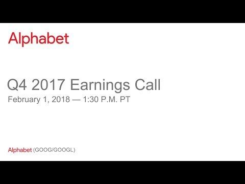 Alphabet 2017 Q4 Earnings Call