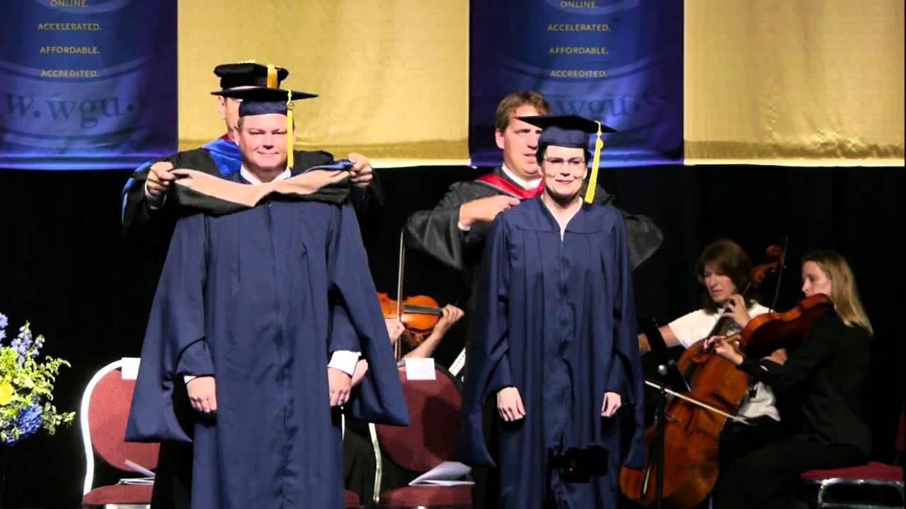 WGU Graduate Degree Conferral - Summer 2014 Commencement