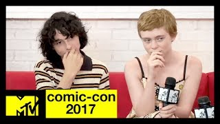 'It' Cast on Pennywise & 'Game of Thrones' Predictions | Comic-Con 2017 | MTV