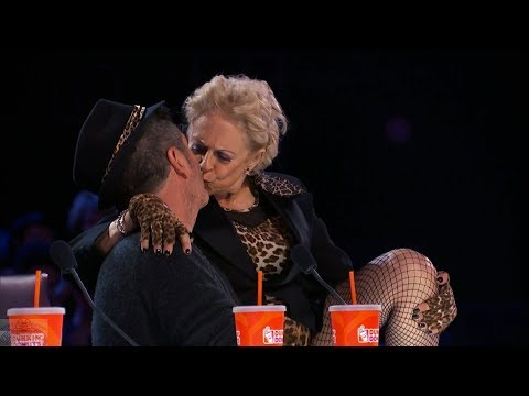 America's Got Talent 2017 The Older Women Love Simon Full Clip Judge Cuts S12E08