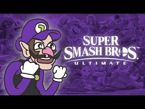 Waluigi For Super Smash Bros Ultimate DLC   Smash Bros Animation