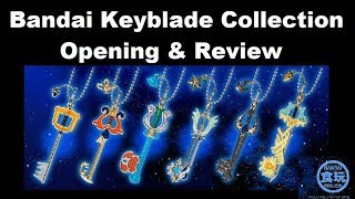 Kingdom Hearts Bandai Keyblade Collection Opening and Review