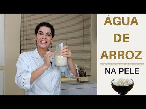 ÁGUA DE ARROZ para pele - Benefícios e como usar agua de arroz no rosto e clarear manchas de pele