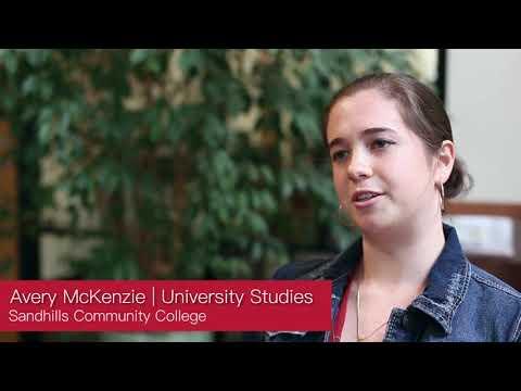 University Studies College Transfer-Sandhills Community College