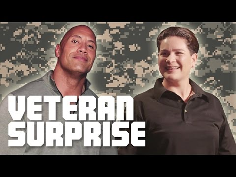download The Rock Surprises A US Army Combat Veteran With A 2018 Ford Mustang!