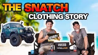 HOW SNATCH CLOTHING STARTED! Plus one-of-a-kind Suzuki Sierra build!   The Shed Ep 14