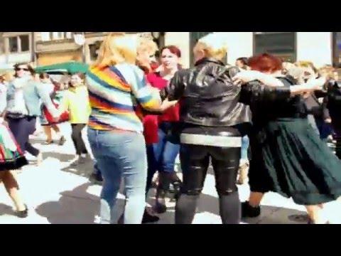 Hungarian flashmob in Germany