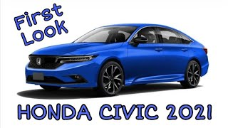 Honda Civic 2021 First Look