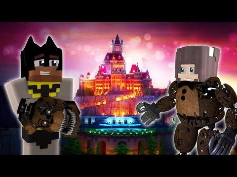 FNAF Minecraft: Batman Saves Anna in the Brand New Wayne Manor