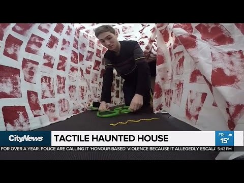 CNIB creates tactile Halloween haunted house for the visually impaired