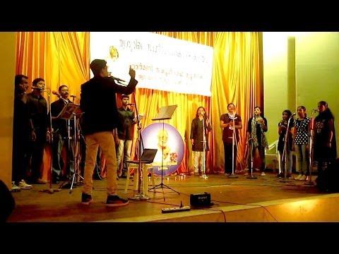 A Cappella |Tribute to Dakshinamurthy| Amal Antony Agustín (composer)