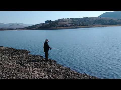 Nicasio Reservoir Fishing For Catfish.