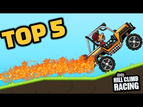 TOP 5 GAMES Like HILL CLIMB RACING - Gameplay