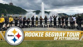 Steelers rookies take Segway tour around Pittsburgh | Steelers