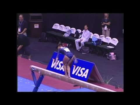 Kayla Hoffman (Rebound) - 2006 US Sr Nationals - Beam (Day 1)