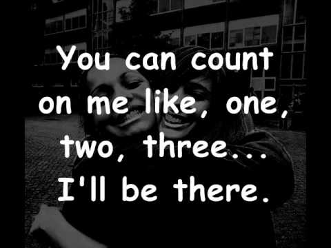 Bruno Mars  Count on me lyrics