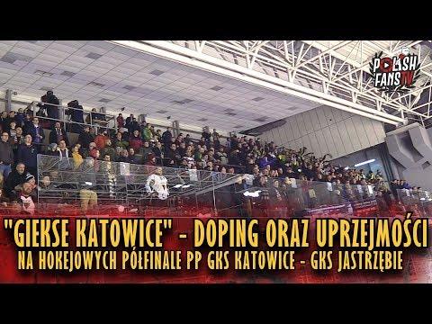 """""""GIEKSE KATOWICE"""" - doping oraz uprzejmości na hokejowym półfinale PP w Tychach (27.12.2018 r.)"""