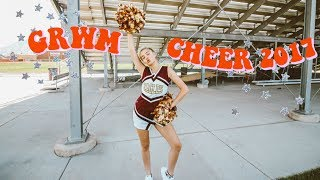 GET READY WITH ME - CHEER 2017!