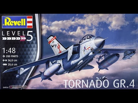 Revell : Tornado GR.4 : 1/48 Scale Model : In Box Review