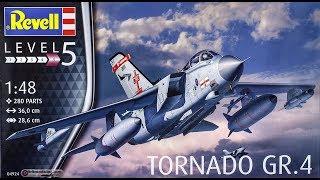 Revell : Tornado GR.4 : 1/48 Scale Model : In Box Review