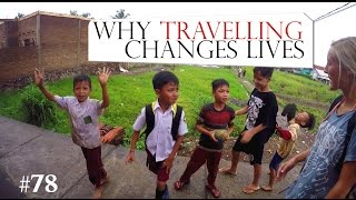 THIS IS WHY TRAVELLING CHANGES LIVES 👫 WONDERFUL INDONESIA Worldtravel Vlog#78 - Adventure Time