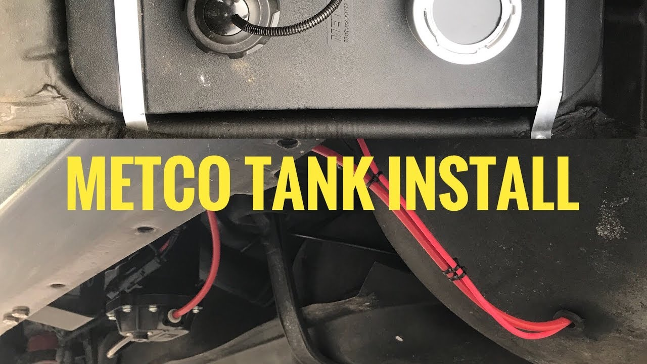 METCO Trunk Mount Fuel Cell Installation