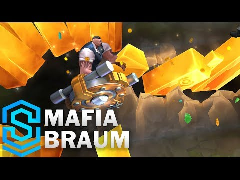 Mafia Braum Skin Spotlight - League of Legends