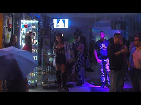 Medellin Liquor Store Club Filled with Colombian Women