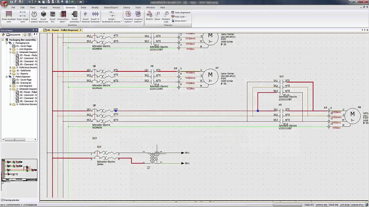 solidworks electrical quick tip setting wire width in a schematic rh youtube com electrical schematic reference designators Wiring- Diagram