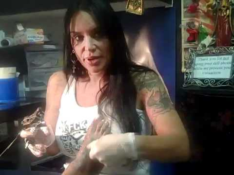 chassity talks about add on -feet tattoo la body art 423-0854