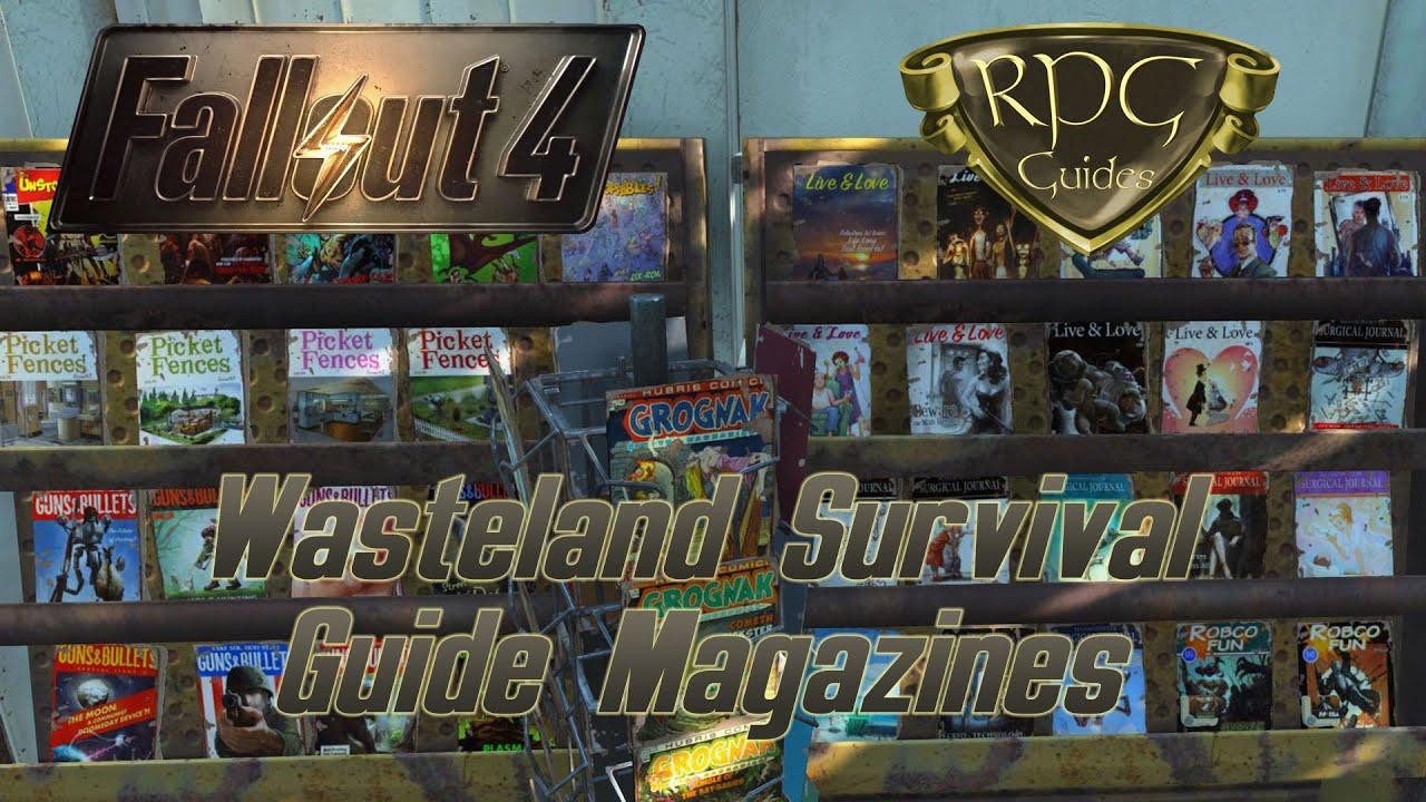 Fallout 4 Guide: Wasteland Survival Guide Magazine (9 Ausgaben)