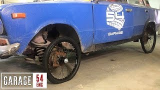 Fitting Bicycle Wheel to a Сar